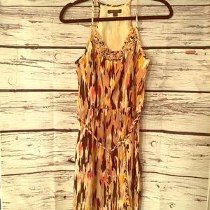 Banana Republic Dresses - Banana Republic Dress Size 4. Tan, Orange, Brown
